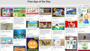 FREE App of the Day Pinterest Board- Paid apps that have gone FREE.