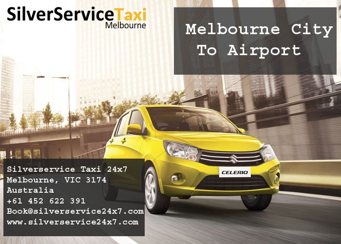 Looking for #Melbourne #City #To #Airport #Cab Book cabs by Book@silverservice24x7.com You don't have to worry about looking for transportation on arrival. Our drivers will be present at the location in advance for your ease. visit at www.silverservice24x7.com