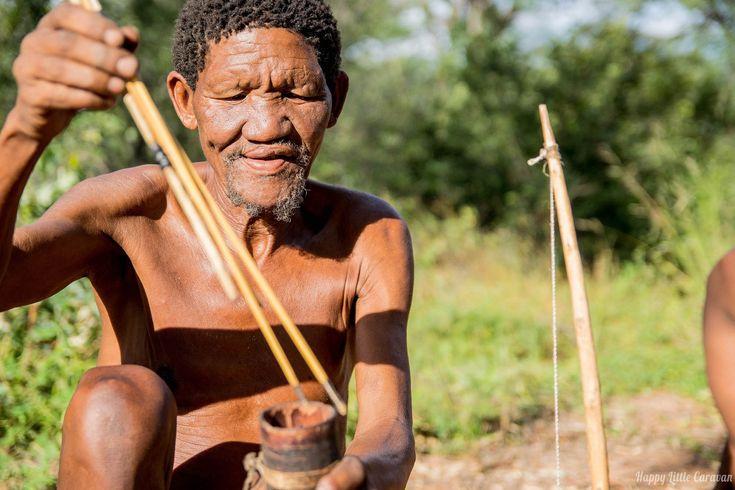 Una straordinaria esperienza tra i Bushmen della Nambiai