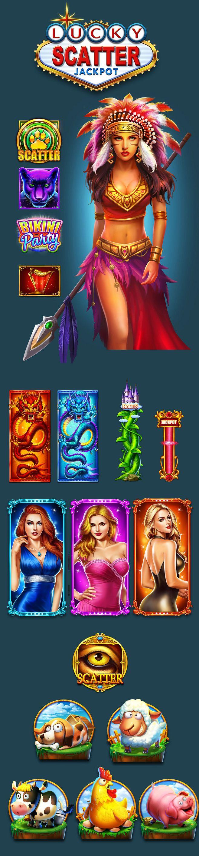 游戏角色UI设计及图标