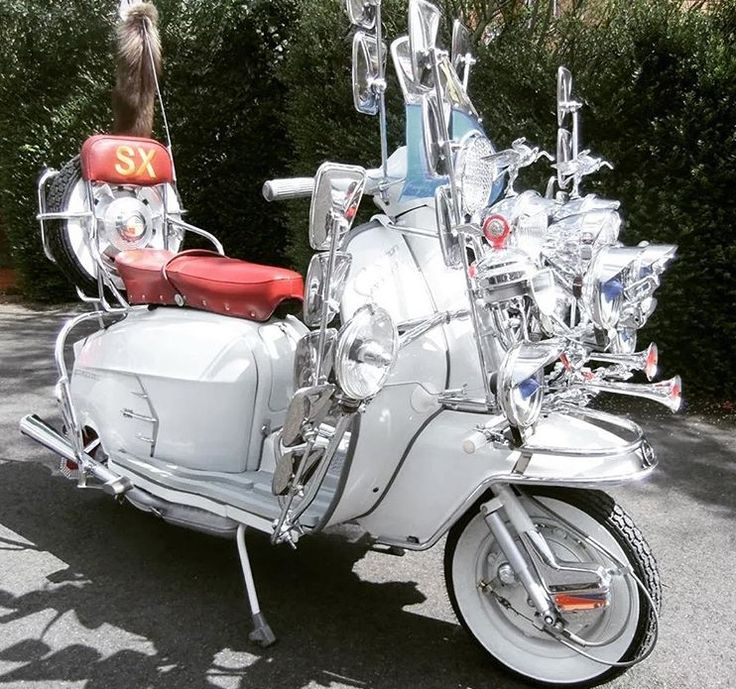 Beautiful looking scooter ❤