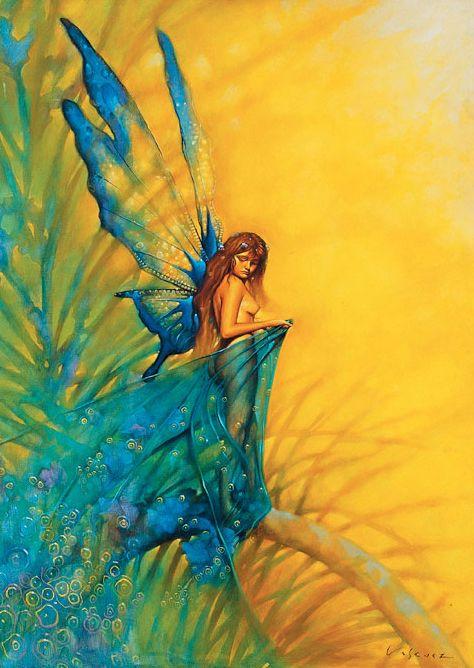*+*Mystickal Faerie Folke*+*... Hada Primavera... By Artist Juanvasquez...