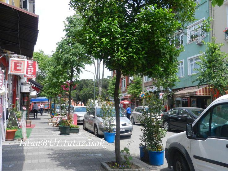 Gülten és Hüseyin úr üzletének utcája