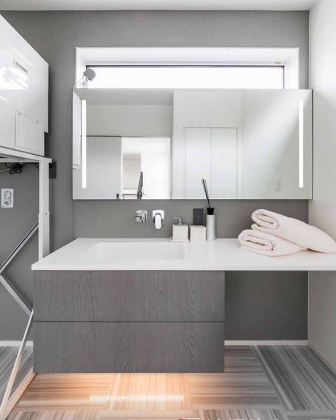 Dai On Instagram 洗面所 脱衣所の仕様について 洗面台