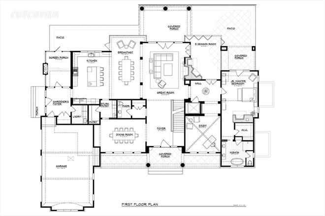 941/933 Head of Pond Road, first floor plan