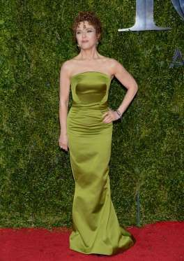 Bernadette Peters arrives at the 69th annual Tony Awards at Radio City Music Hall in New York City o... - Evan Agostini/Invision/AP