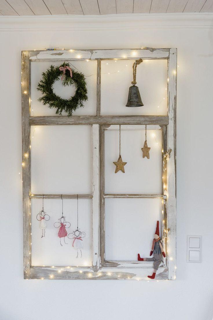 Engel DIY für Weihnachten oder neue Drahtnägel