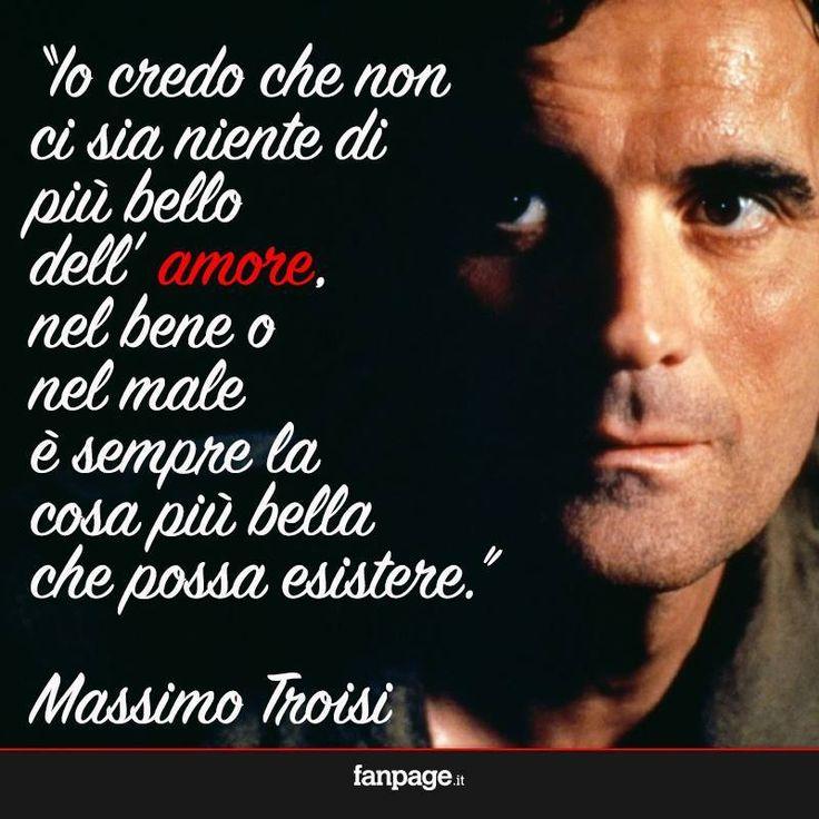 <3 Massimo Troisi
