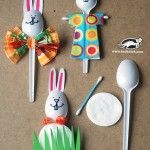 plastic spoon bunny craft (1)