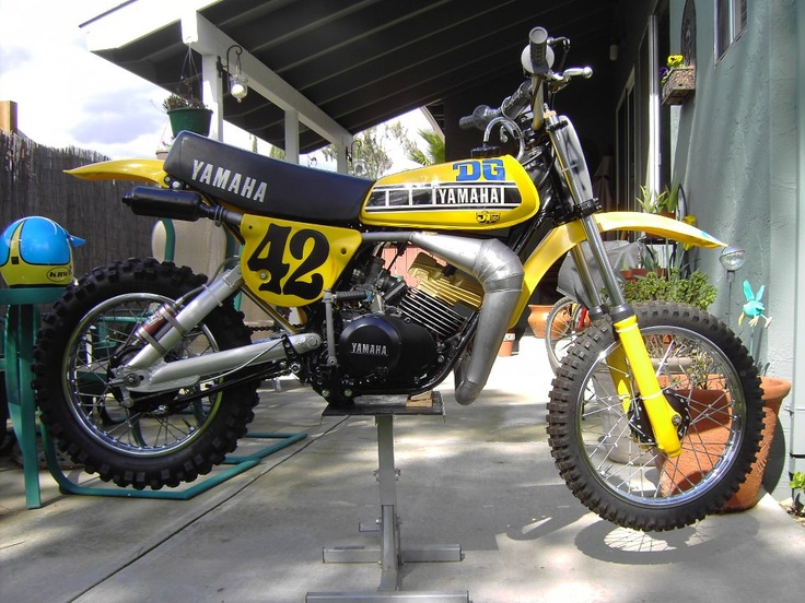 Tricked out dg package 1978 yamaha yz80 vintage dirt for Yamaha mx 80 for sale