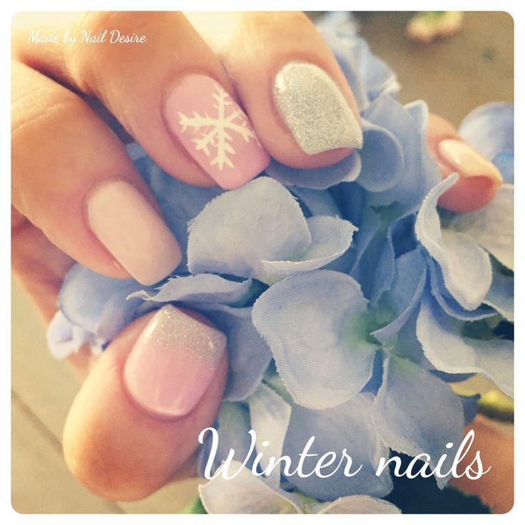 #NailDesire #Winter #Nails #Nailart