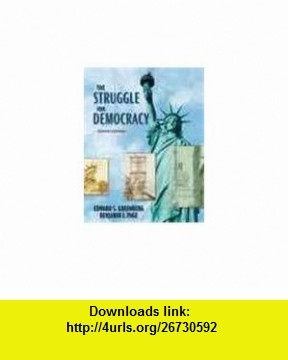 Struggle for Democracy, The,  a la Carte Plus MyPoliSciLab CourseCompass (8th Edition) (9780205552955) Edward S. Greenberg, Benjamin I. Page , ISBN-10: 0205552951  , ISBN-13: 978-0205552955 ,  , tutorials , pdf , ebook , torrent , downloads , rapidshare , filesonic , hotfile , megaupload , fileserve