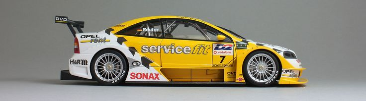 Opel Astra DTM - Servicefit #7 Manuel Reuter 2001 DTM Tamiya #24243