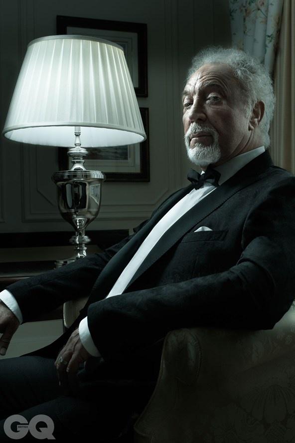 Sir Tom Jones: GQ Legend Of The Year 2012