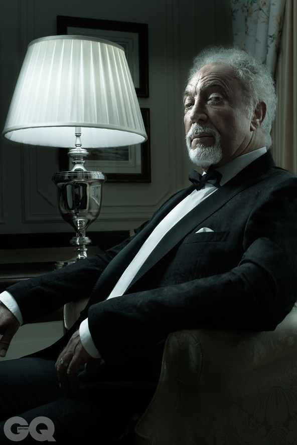Sir Tom Jones: GQ Legend Of The Year 2012