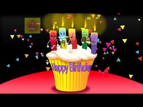 Happy Birthday Wishes Funny Grumpy Candle Band Video