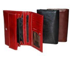 Luxusná kožená peňaženka z pravej talianskej kože