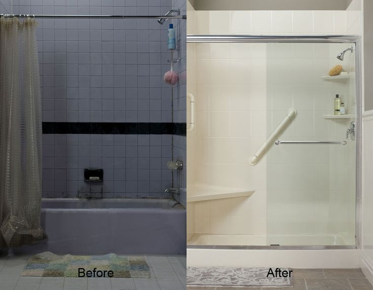 tub to shower conversion gallery