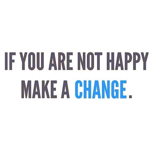 If you are not happy, make a CHANGE. http://www.qualiproducts.com