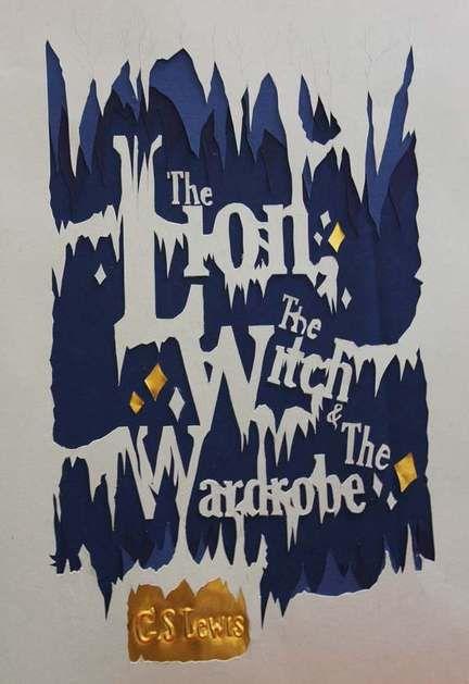 Handmade Book Jacket - Narnia by Tannia Surijadjaja, via Behance
