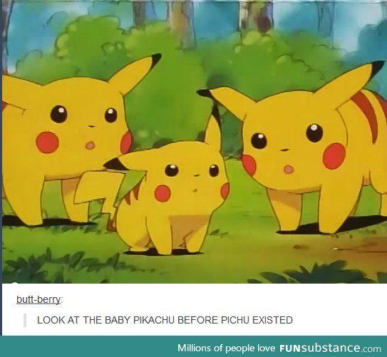 OMG Pichu actually stinks, in my opinion. I like baby Pikachus! Hehhehhehheheh