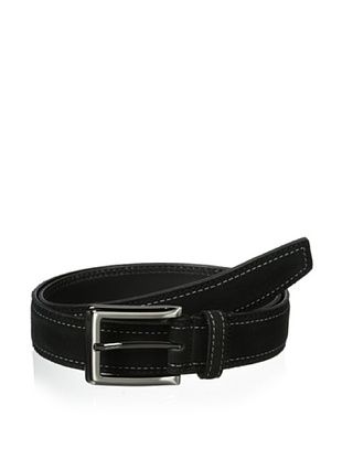 J.Campbell Los Angeles Men's Suede Stitched Belt