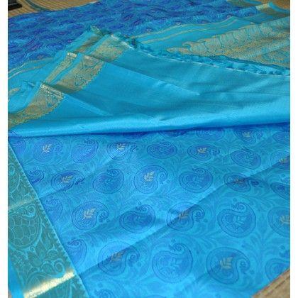 Kanchipuram Pure Silk Saree (KNC-VKM-002)