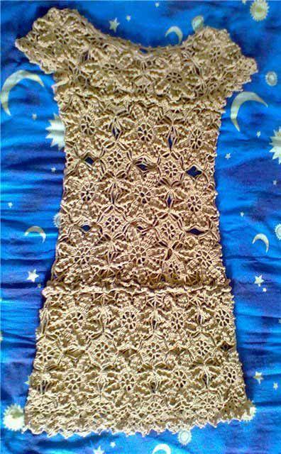 Платье Choche от Vanessa Montoro. Схемы вязания крючком