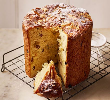 Prove your baking skills this Christmas with a fluffy, lighter-than-air classic Italian sweetbread, packed with festive flavours and candied fruit