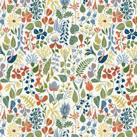 BoråsTapeter Herbarium tapetti sininen
