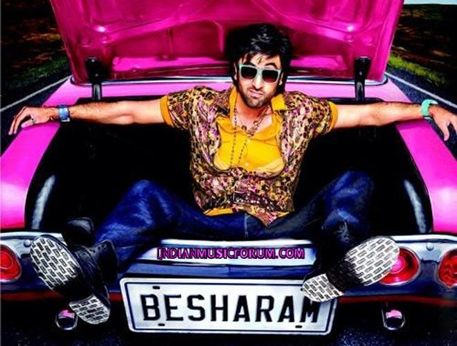 Besharam (2013) - Hindi Movie Mp3 Songs Download http://www.indianmusicforum.com/2013/09/besharam.html