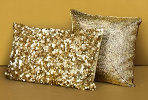 loving these sparkle pillows from #TJMaxx