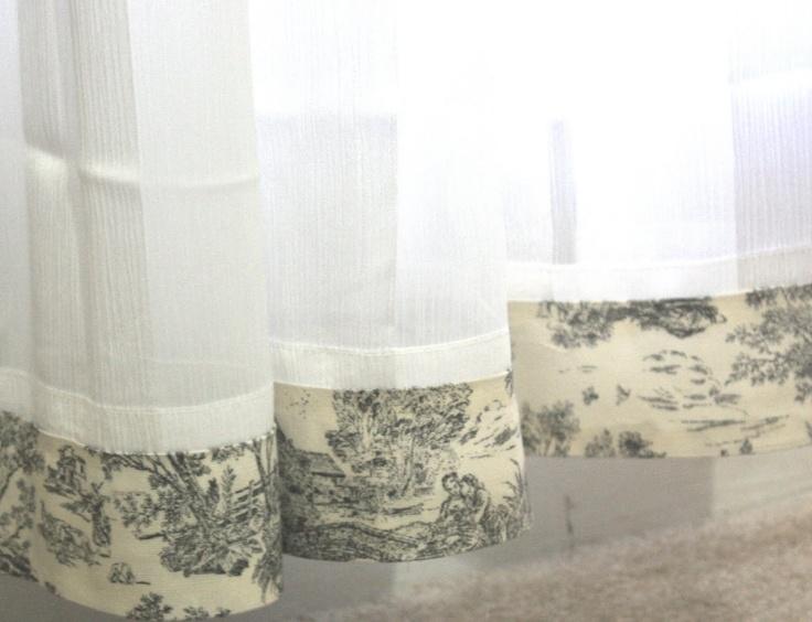 Toile Bathroom Ideas: 25+ Best Toile Curtains Trending Ideas On Pinterest