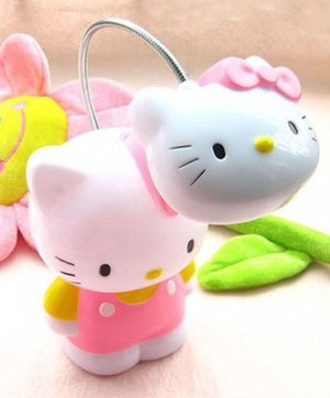 Pinterest Hello Kitty Desk Lamp