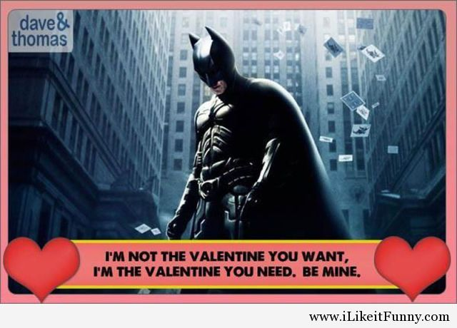 Funny card Batman Valentines day Funny Picture – Batman Valentines Day Card