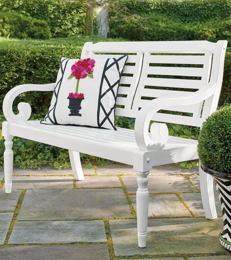 Mayfield Bench in 2020 (With images) Outdoor decor