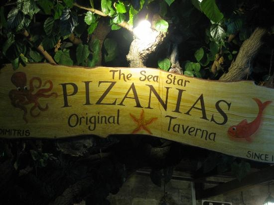 rhodes old town fish restaurants   Pizanias Kyriakos Fish Restaurant, Rhodes Town - Restaurant Reviews ...