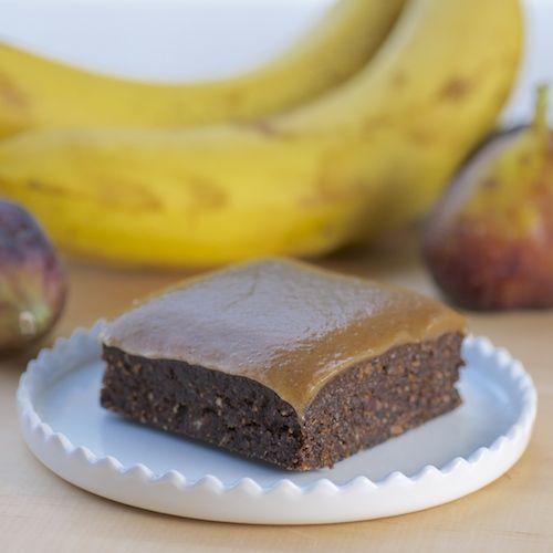Shamelessly Fruity Brownies - raw, vegan, nothin' but fruit