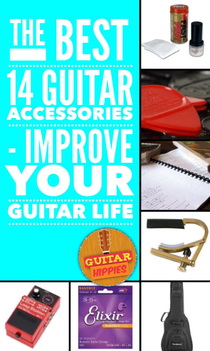 The Best Guitar Accessories