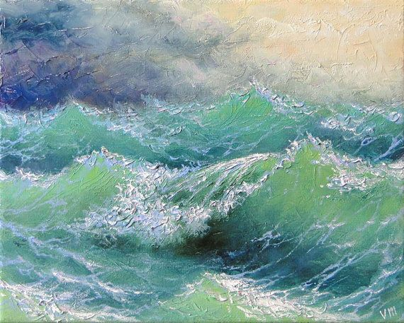 Ocean Reference Picture For Painting