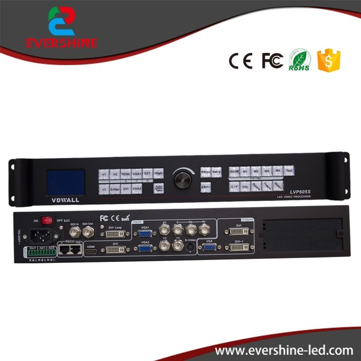 899.00$  Buy here - http://aliyyp.worldwells.pw/go.php?t=32754827393 - VDWALL LVP605D LED Display VIDEO Wall Processor with VGA/DVI/HDMI 899.00$