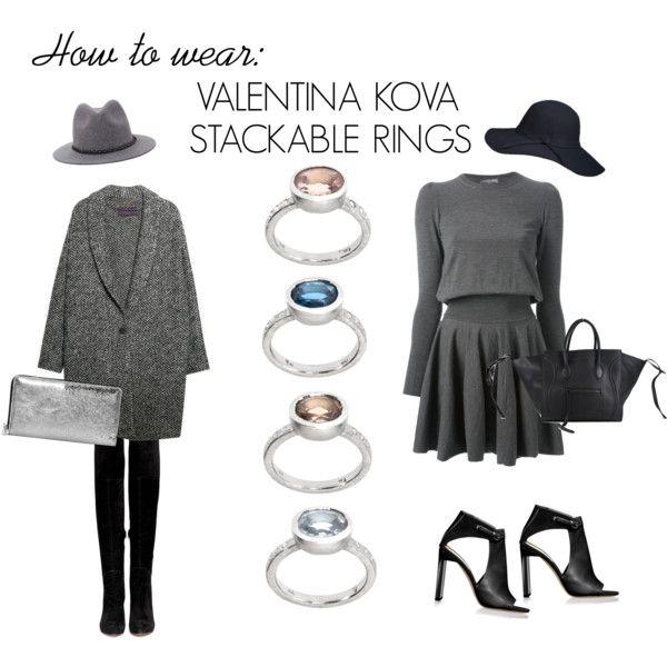 VK stackable rings