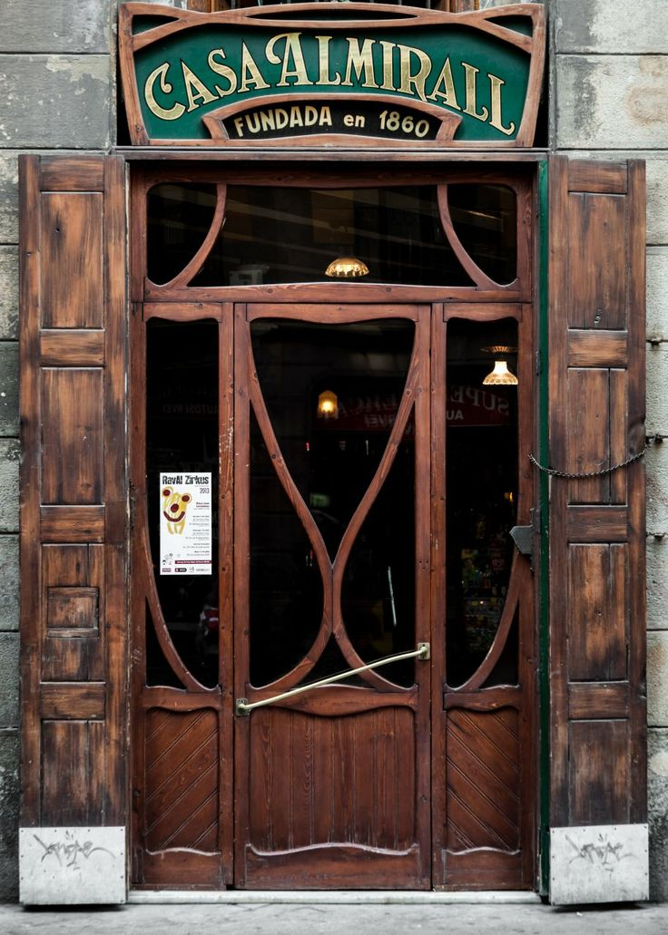 Casa Almirall, Raval,  Barcelona, Catalonia