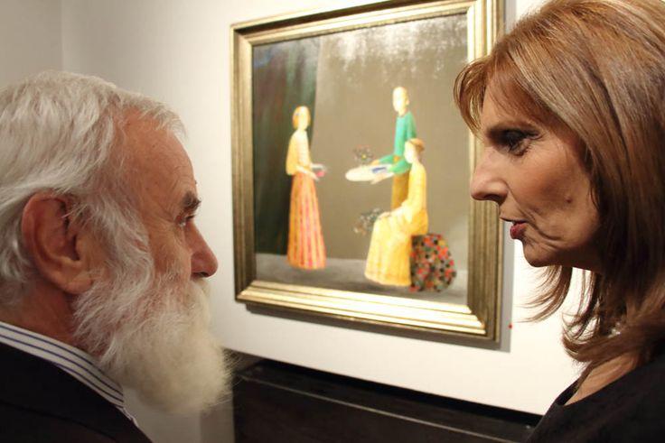 Eveniment cultural de excepţie la Galeria AnnArt: Ștefan Câlţia, Lucrări Recente