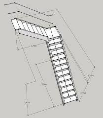 risultati immagini per escalera en l medidas