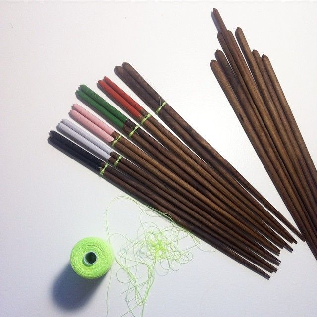 Handmade chopsticks by MEKKA!