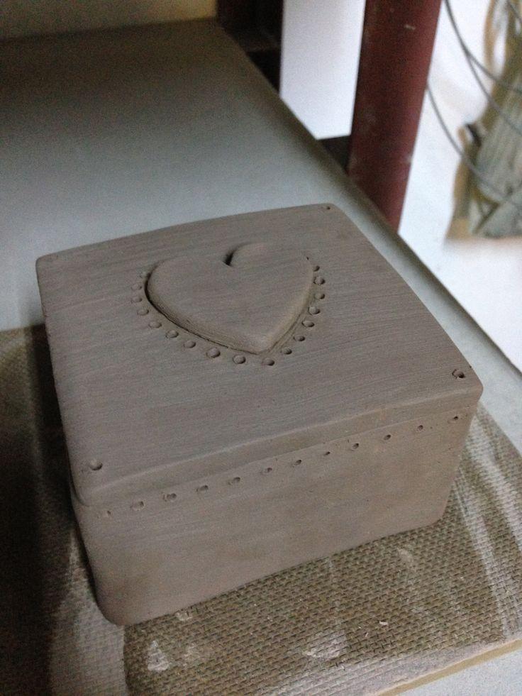 Pottery - Stoneware box