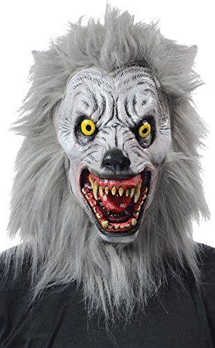 Morris Costumes MR139001 Albino Werewolf Mask Realistic