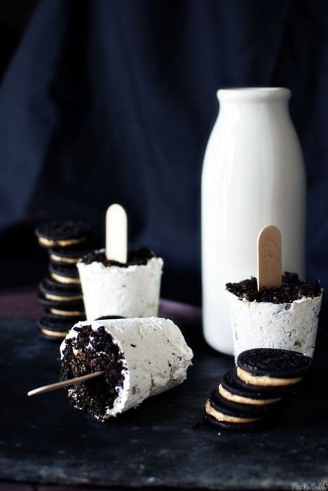 cookies and cream pops