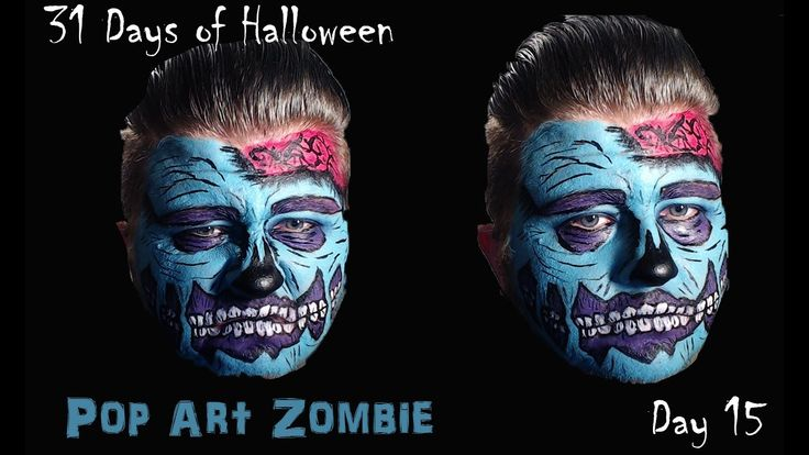 Pop Art Zombie Makeup Tutorial[31 Days of Halloween][Day 15]Day 15 of the #31daysofhalloween and I did this Pop Art Zombie. The full video is on my YouTube Channel.  #halloween #halloweenmakeup #halloweenmakeuptutorial #makeuptutorial #makeupartist #popartzombie #popartzombiemakeup #zombiemakeup #zombie #callingallcrafts #costumemakeup #costume #halloweencostume #halloweencostumemakeup #youtube #youtubemakeup #youtubemakeupchannel #youtuber #silassilence